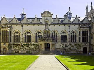 Oriel College, Oxford A college of the University of Oxford