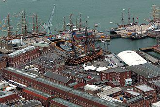 Hampshire - Portsmouth historic dockyard, 2005