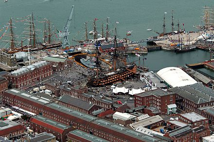 Portsmouth historic dockyard, 2005 UK Defence Imagery Naval Bases image 06.jpg