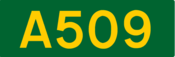 A509 road shield