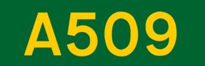 N3 road (Ireland) - Image: UK road A509