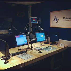 University Radio Nottingham - Studio 1 after digital refit