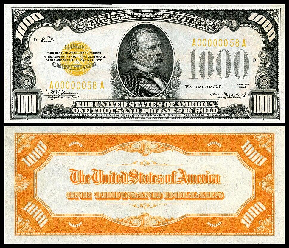 US-$1000-GC-1934-Fr.2409