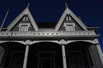 Lathrop House (Redwood City, California) - Image: USA Redwood City Benjamin Lathrop House 3