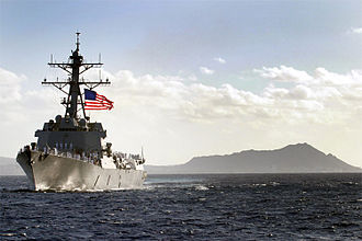 USS Chafee - USS Chafee pulls into her new homeport of Pearl Harbor, Hawaii.