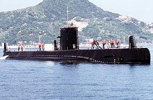 موسوعة غواصات البحرية الامريكية بعد الحرب العالمية الثانية بالكامل 300px-USS_Darter_%28SS-576%29