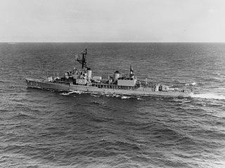 USS <i>Fechteler</i> (DD-870) Gearing-class destroyer