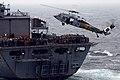 USS John C. Stennis resupplies. (8427347880).jpg