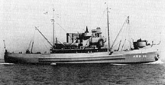 Rescue and salvage ship - Image: USS Swivel (ARS 36)