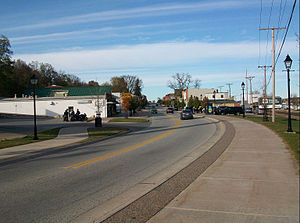U.S. Route 67 - U.S. 67 in LeClaire, Iowa