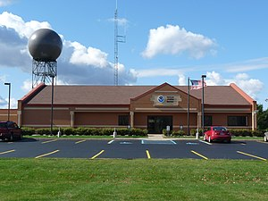 English: Gaylord Michigan office of the US Nat...
