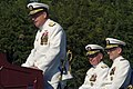 US Navy 030929-N-2383B-111 Rear Adm. Jan C. Gaudio reads his orders and makes his remarks.jpg