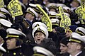 US Navy 031206-N-9693M-510 U.S. Naval Academy Midshipmen cheer for their football team during the 104th Army Navy Game.jpg