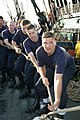 US Navy 040824-N-0335C-005 A group of chief petty officer selectees (CPO) haul a line while setting the jib sail aboard the USS Constitution.jpg