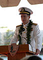 US Navy 051207-N-3286G-166 Chief of Naval Operations Adm. Mike Mullen delivers his speech during the 64th commemoration of the Dec. 7, 1941 attack on Pearl Harbor, Hawaii.jpg