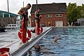 US Navy 070625-N-3642E-366 Marine Corps recruits work together to complete the Combat Water Survival Course at Marine Corps Recruit Depot, Parris Island.jpg