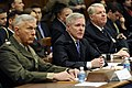 US Navy 100224-N-5549O-075 Gen. James T. Conway Secretary of the Navy Ray Mabus and Adm. Gary Roughead testify before the House Armed Service Committee.jpg