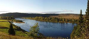 Ufa River - Image: Ufa River