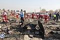 Ukrainian Boeing 737-800 Crashes near Tehran 2020-01-08 02.jpg