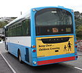 Ulsterbus bus 273 (NEZ 9273) 2007 Volvo B7R Wright Eclipse SchoolRun, 30 September 2010.jpg