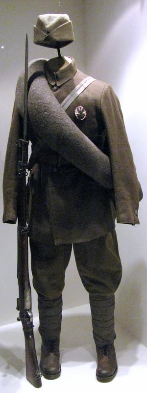 Battle of Ossów - Uniform of the Polish Volunteer Army
