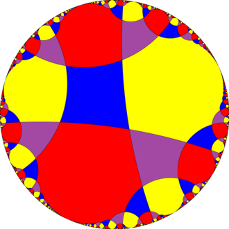 Tetraapeirogonal tiling - Image: Uniform tiling verf i 4i 4