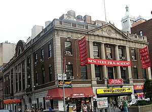 Union Square Theatre - Photo from 2008; the theatre was on left side of building
