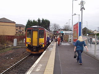 East Kilbride railway station railway station in South Lanarkshire, Scotland, UK