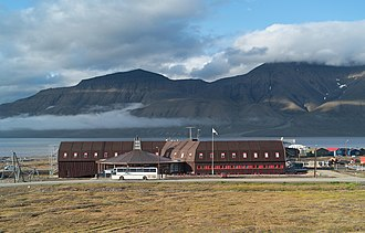 University Centre in Svalbard - The UNIS main building (dated 2003)