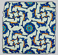 Unknown, Turkey, 1560 - Iznik Tile - Google Art Project.jpg
