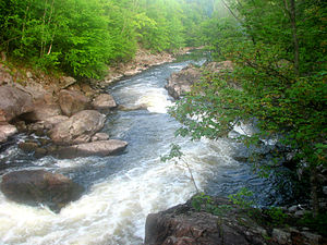 Magnetawan River - Image: Upper Magnetawan River