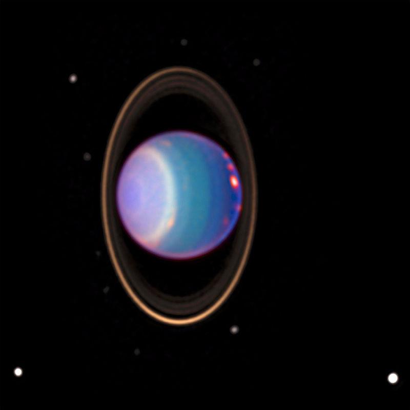 Hubble Space Telescope Saturn Image
