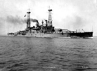 Vittorio Cuniberti - USS South Carolina