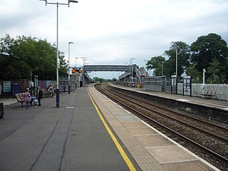 Uttoxeter railway station Station in Staffordshire, England