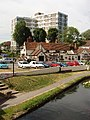 Uxbridge - canal, pub and flats - geograph.org.uk - 20500.jpg