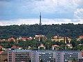 Výhled z Baby, Petřínská rozhledna.jpg