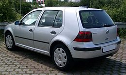 VW Golf IV rear 20080715.jpg