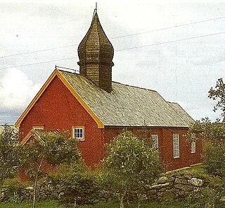 Old Værøy Church Church in Nordland, Norway