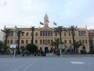 Maristes Valldemia School in Mataró, Province of Barcelona - Catalonia, Spain