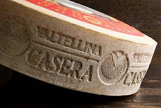 Valtellina Casera Italian cheese