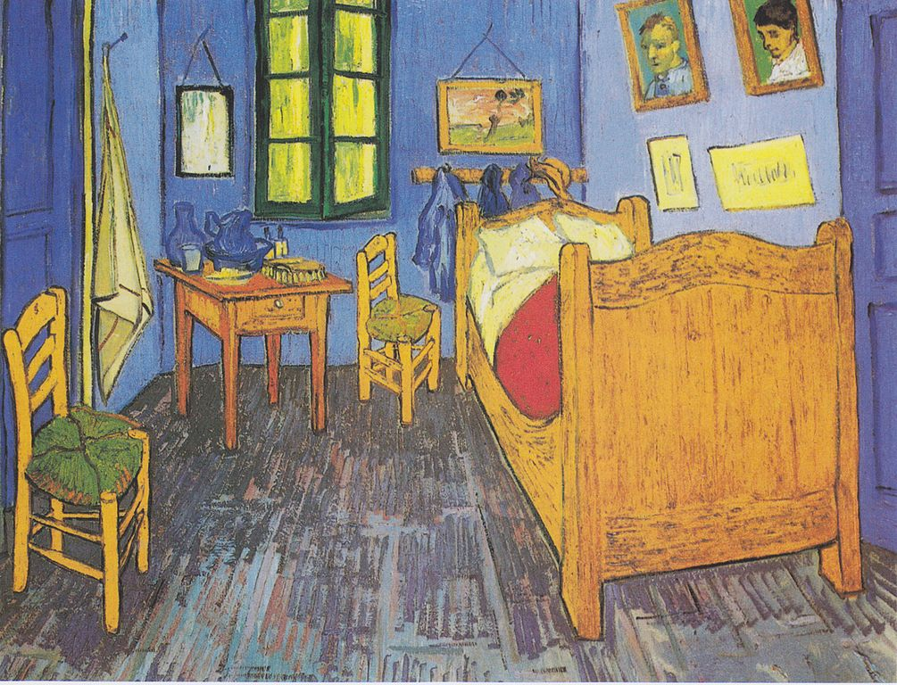 File:Van Gogh - Vincents Schlafzimmer In Arles2.Jpeg - Wikimedia