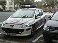 Vehículo de la Policía Nacional francesa en Arcachón.jpg