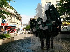 Velbert - Image: Velbert Muenzbrunnen