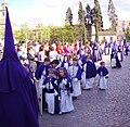 Venerable Hermandad del Santísimo Cristo de la Lanzada y María Santísima de la Caridad, Granda, Semana Santa 2009 (14).JPG