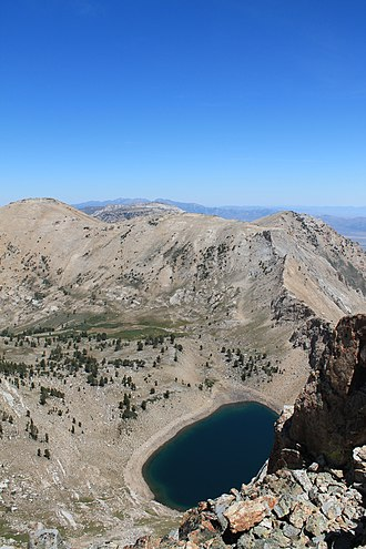 Tarn (lake) - Verdi Lake in the Ruby Mountains of Nevada