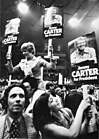 Verkiezingscampagnes in Verenigde Staten begonnen, aanhangers van Carter op part, Bestanddeelnr 928-7714.jpg