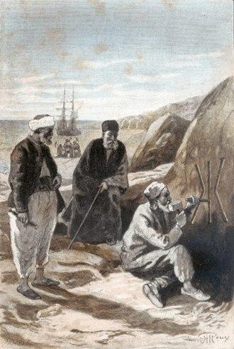 Captain Antifer - Kamylk-Pasha buries his fortune