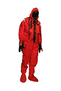 Submarine Escape Immersion Equipment Whole-body exposure suit that allows submariners to escape from a sunken submarine