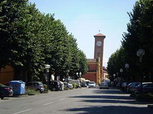 Molinella - Image: Via Mazzini Molinella
