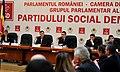 Victor Ponta la prezentarea Strategiei de Dezvoltare a Retelei de Autostrazi 2014-2018 in cadrul Grupurilor parlamentare reunite ale USL (3) (11188972725).jpg